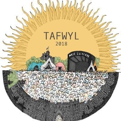 Tafwyl yn derbyn gwobr Gŵyl Orau Caerdydd