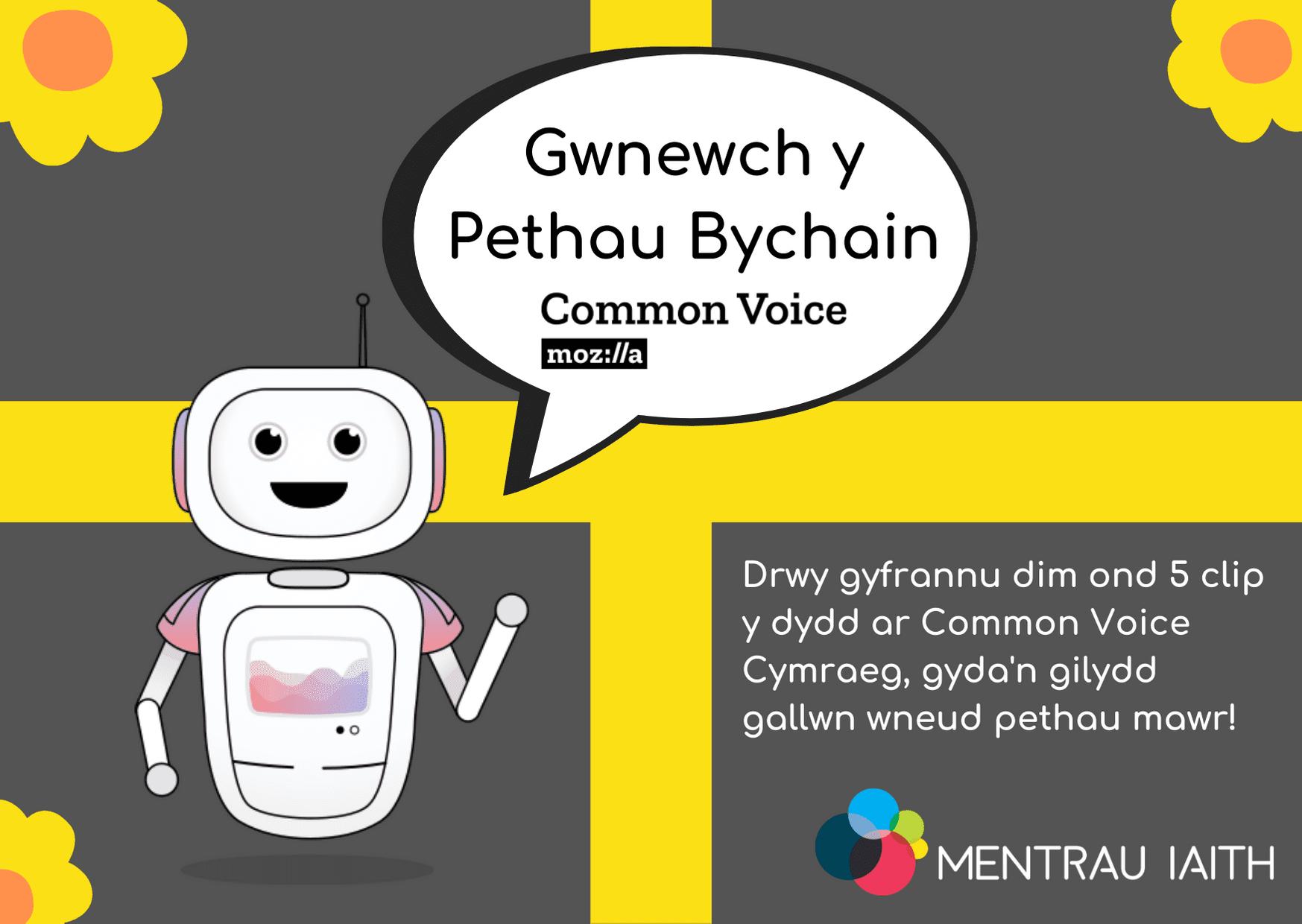 Gwnewch y Pethau Bychain i'r Gymraeg